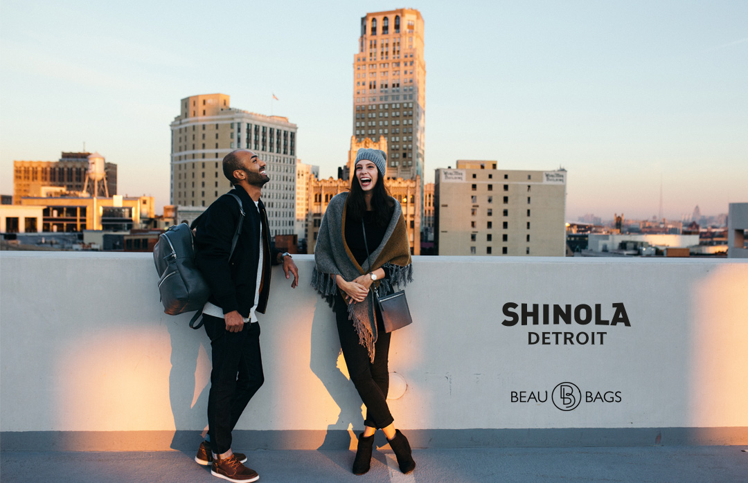 Shinola The Runwell Backpack Black, great pack for on the go