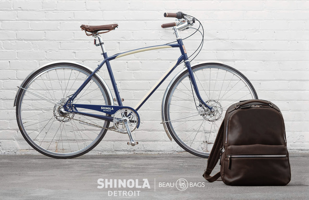 Shinola The Runwell Backpack Deep Brown, great pack for on the go