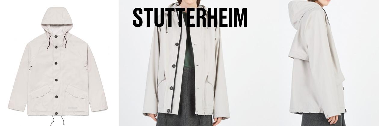 Stutterheim Regenmantel Stenhamra Light Sand