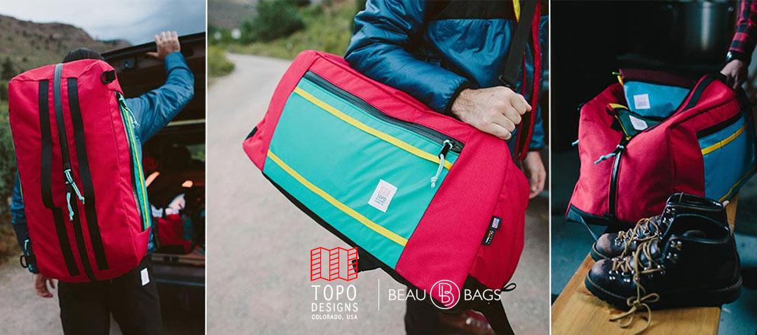 Topo Designs Mountain Duffel 60 Liters, die ideale Beutezug-Tasche