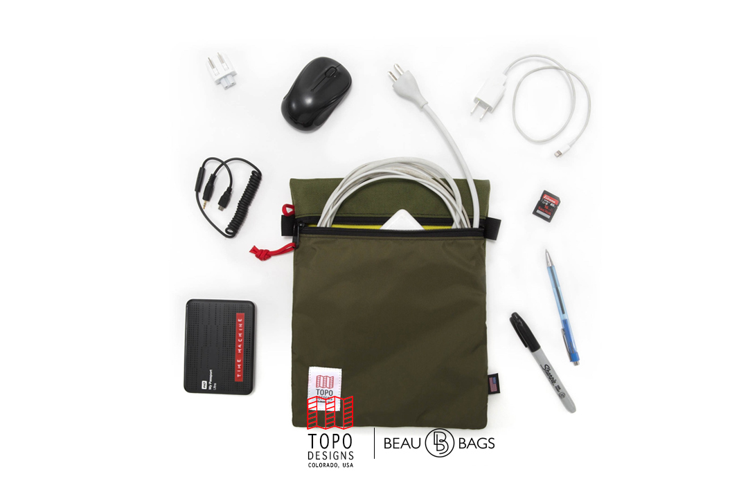 Topo Designs Utility Bag, organisiert die Innenseite Ihres Rucksacks.