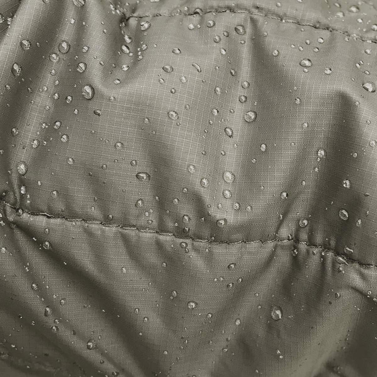 Filson Ultra Light Hooded Jacket Olive Gray, PrimaLoft Gold's überzeugende Leistung, es behält 98% seiner Isolierfähigkeit, wenn es nass ist
