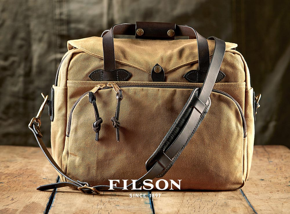 Filson Padded Computer Bag, die ultimative Laptoptasche