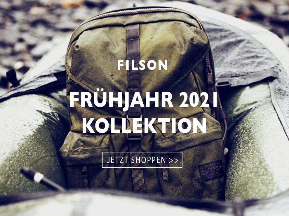 Die neue Filson Frühjahr 2021 kollektion entdecken Sie hier bei BeauBags