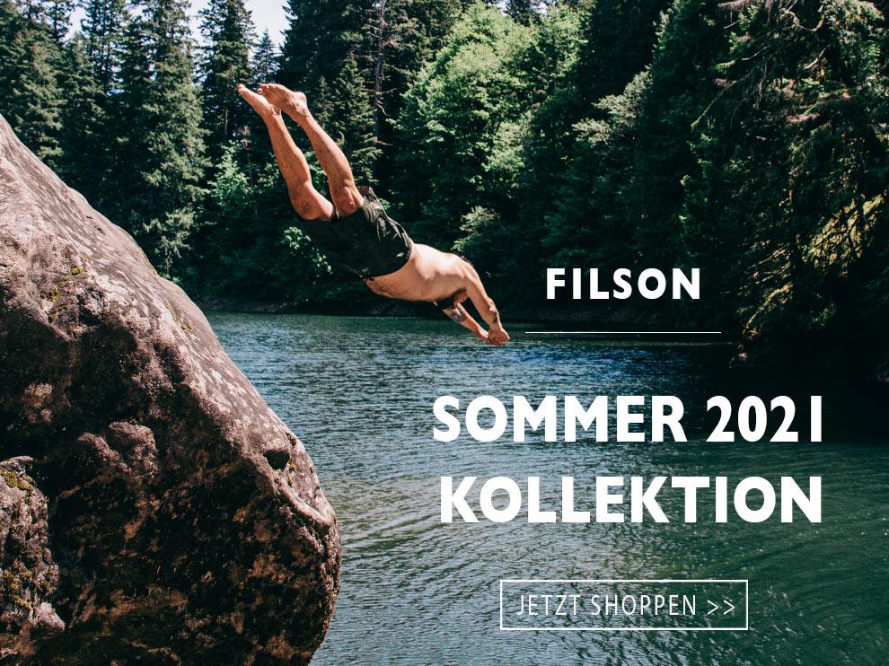 Die neue Filson Summer 2021 kollektion entdecken Sie hier bei BeauBags