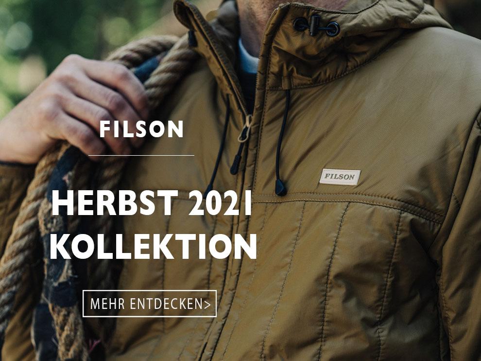 Die neue Filson Herbst 2021 kollektion entdecken Sie hier bei BeauBags