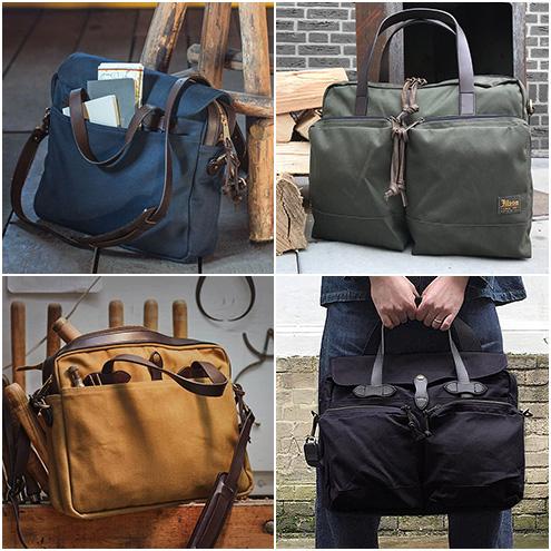 Filson Briefcases und Computer Bags