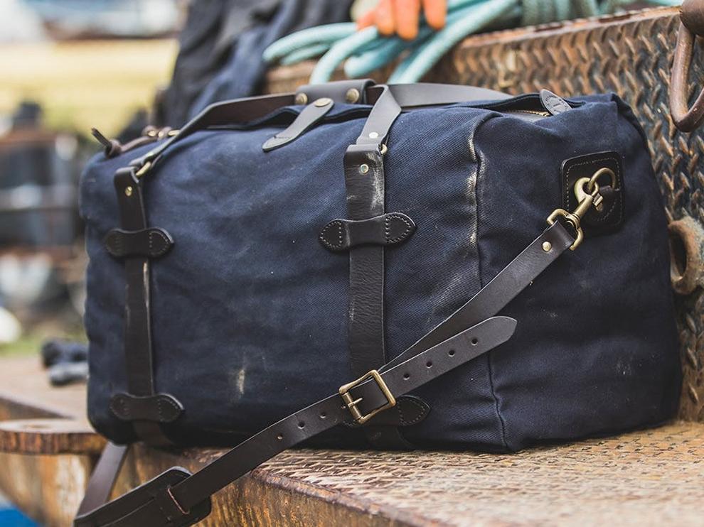 Filson Duffle Bags, tragen alles, durch alles.