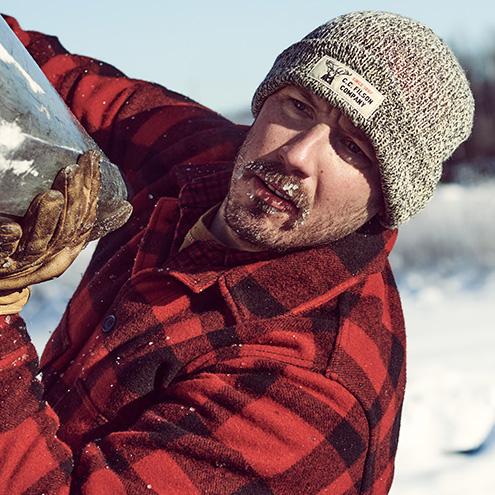 Filson Mackinaw Wool, Die feinste Wolle der Welt für natürlichen Komfort bei kaltem Wetter