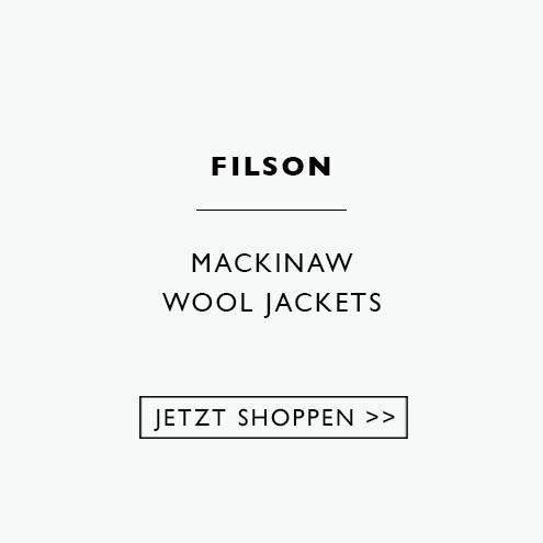 Dies sind die Flaggschiff-Jacken von Filson, die aus extrem strapazierfähiger, regenabweisender 100%iger Mackinaw-Schurwolle gefertigt sind, die auch bei Nässe warm hält
