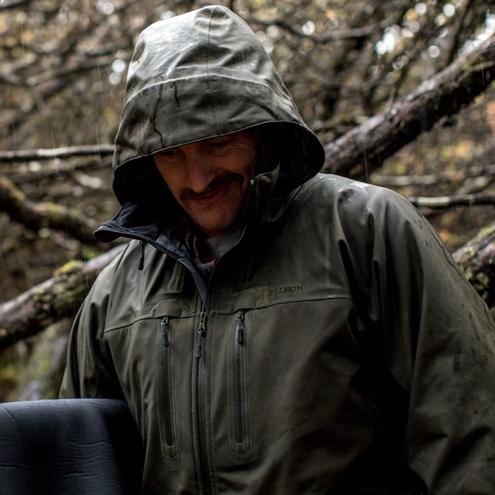 Filson Neoshell Reliance Jacket Raven - Technische Regenbekleidung von Filson