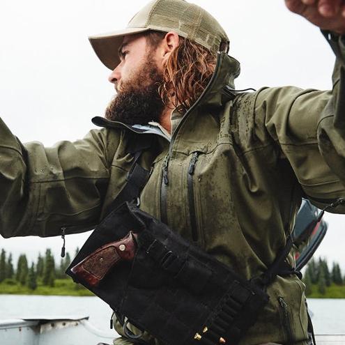 Filson Neoshell Reliance Jacket Raven, Technische Regenbekleidung von Filson