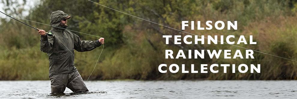 Filson Technical Rainwear Kollektion, jetzt kaufen bei BeauBags, Ihrem Filson-Spezialisten