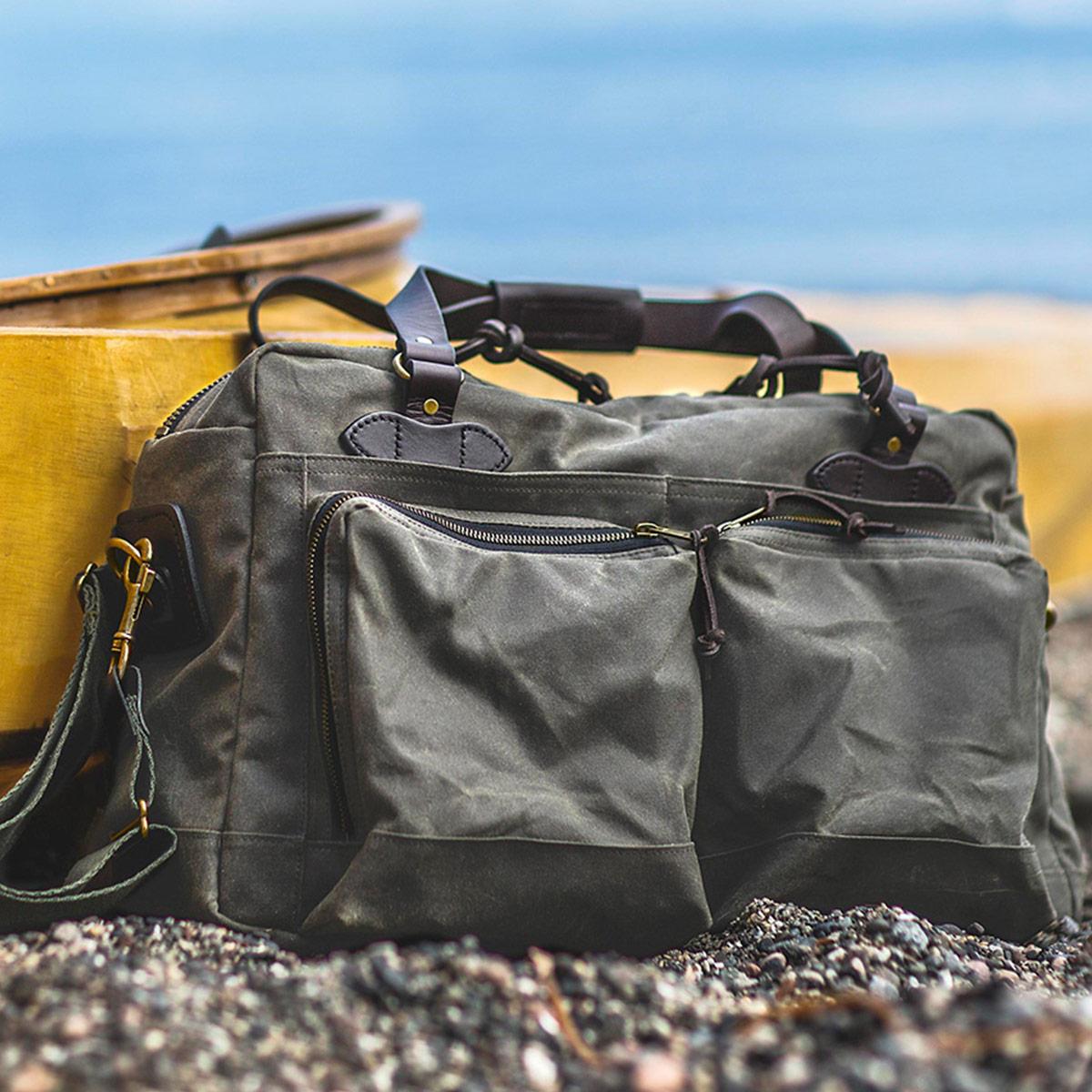 Filson 48-Hour Duffle, diese tolle Tasche ist der perfekte Geschäftspartner auf Reisen