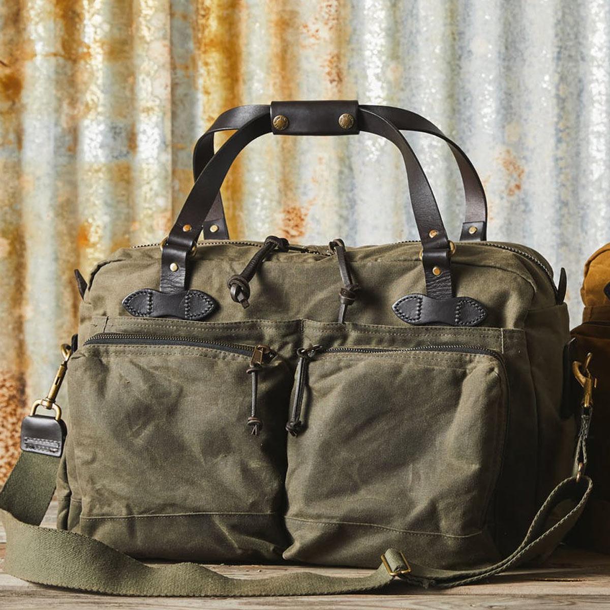 Filson 48-Hour Duffle 11070328 Otter Green, diese tolle Tasche ist der perfekte Geschäftspartner auf Reisen