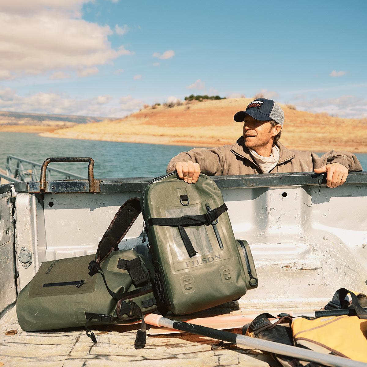 Filson Backpack Dry Bag, wasserdichter Rucksack für abenteuerlustige Frauen und Männer