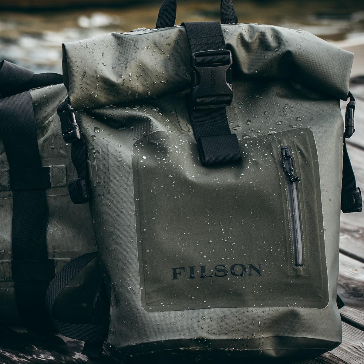 Filson Dry Backpack, für abenteuerlustige Frauen und Männer