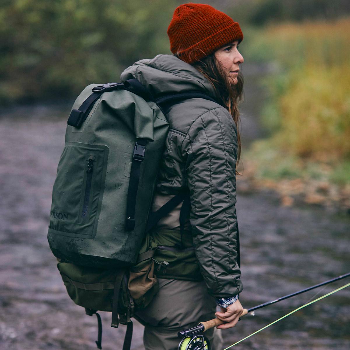 Filson Dry Backpack, garantiert wasserdicht