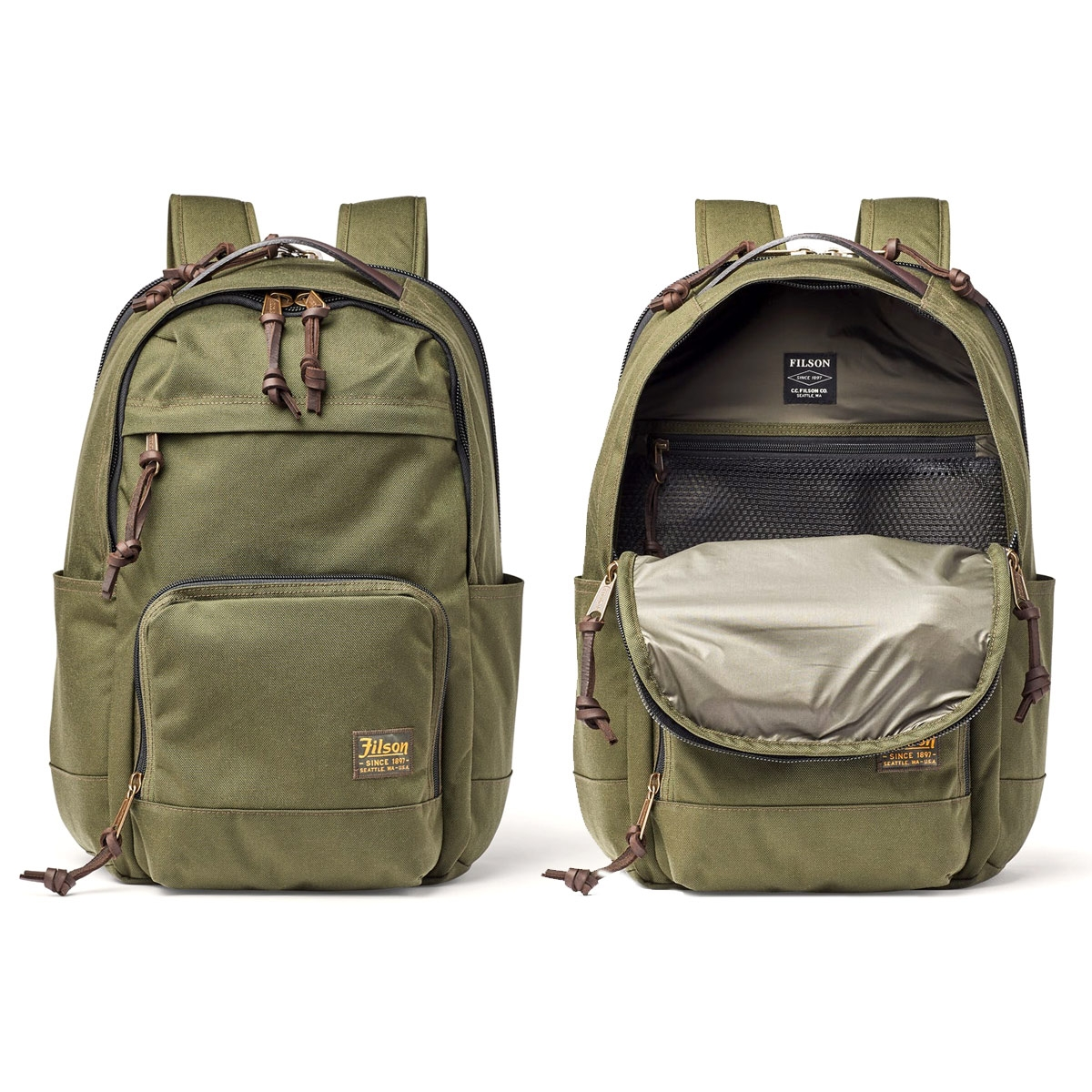 Filson Dryden Backpack 20152980 Otter Green