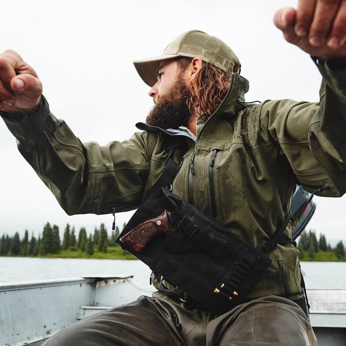 Filson Neoshell Reliance Jacket Raven, Wasserdicht, Hoch atmungsaktiv mit Komfortable Stretch Jacke