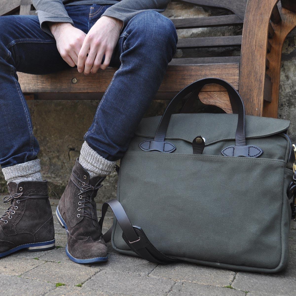 Filson Original Briefcase 11070256 Otter Green streetwear, lifestyle