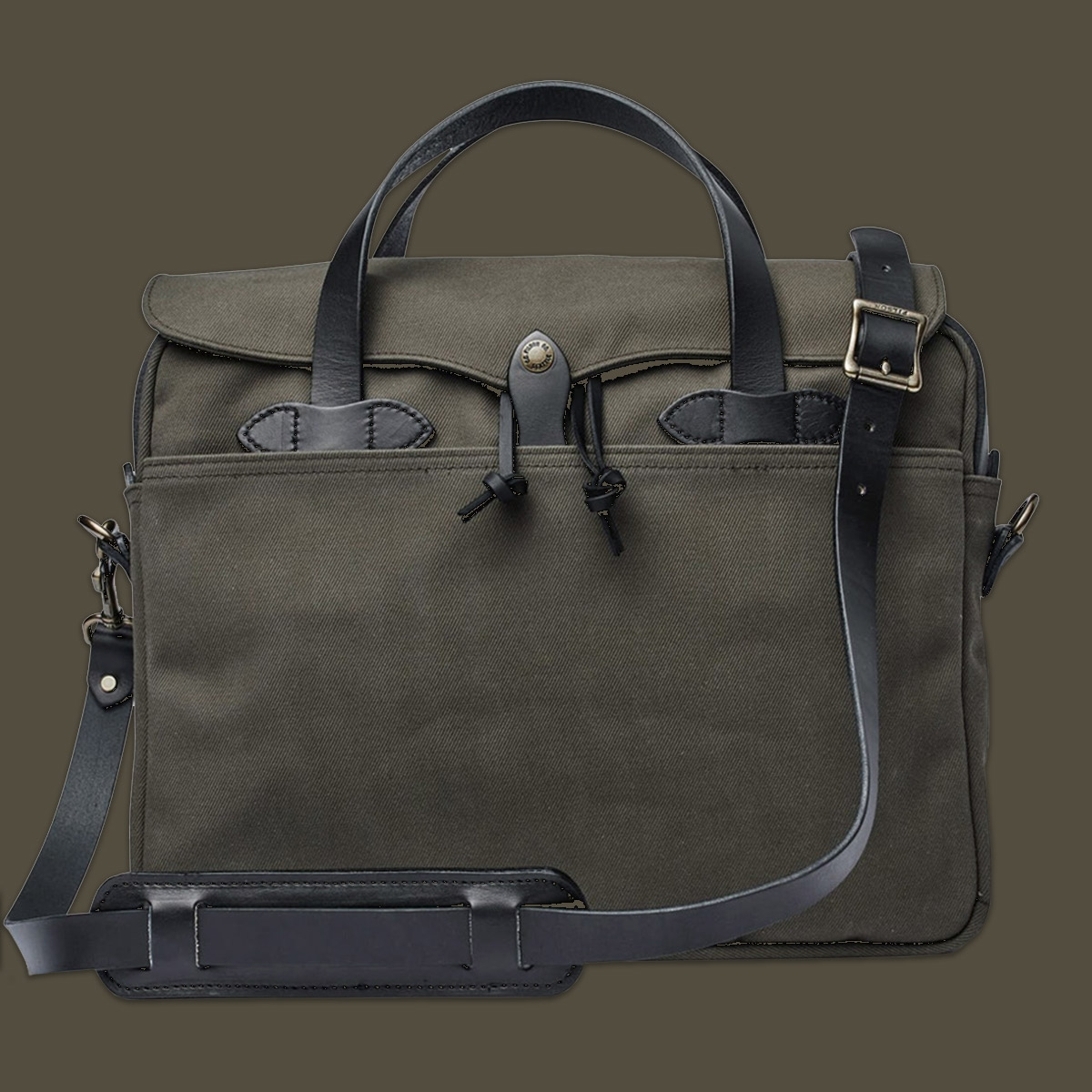 Filson Original Briefcase 11070256 Root, LIMITIERTE FARBE, lifestyle