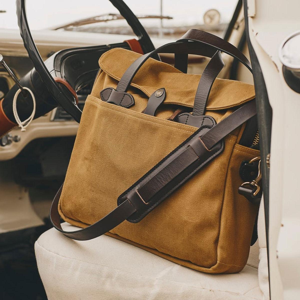 Filson Original Briefcase 11070256 Tan, extraordinary bag for an ordinary day
