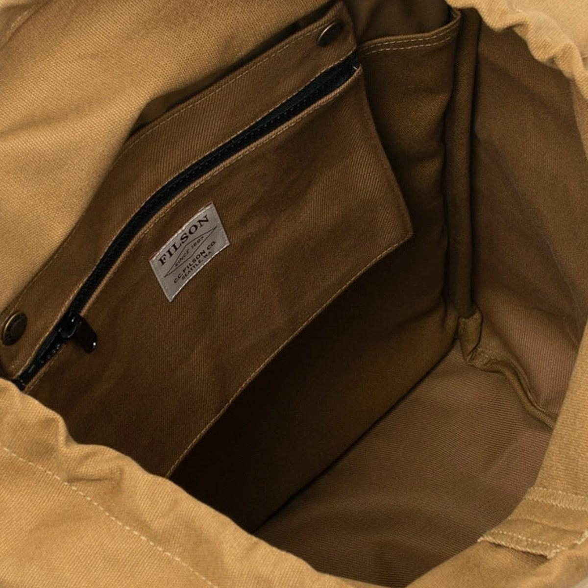 Filson Ranger Backpack 20137828 Tan a rugged, vintage inspired, backpack