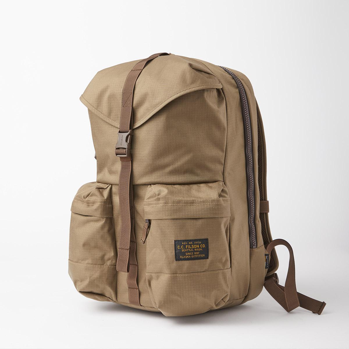 Filson Ripstop Backpack 20115929 Field Tan, Leicht und robust, entwickelt für Komfort auf langen Wanderungen