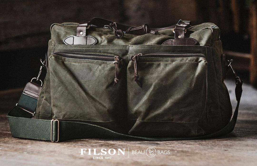 Filson 48-Hour Duffle Otter Green, diese tolle Tasche ist der perfekte Geschäftspartner auf Reisen