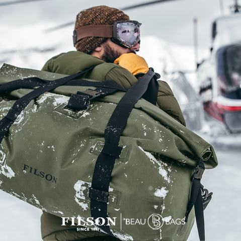 Filson Dry Duffle Bag Large, keeps your gear dry in any weather