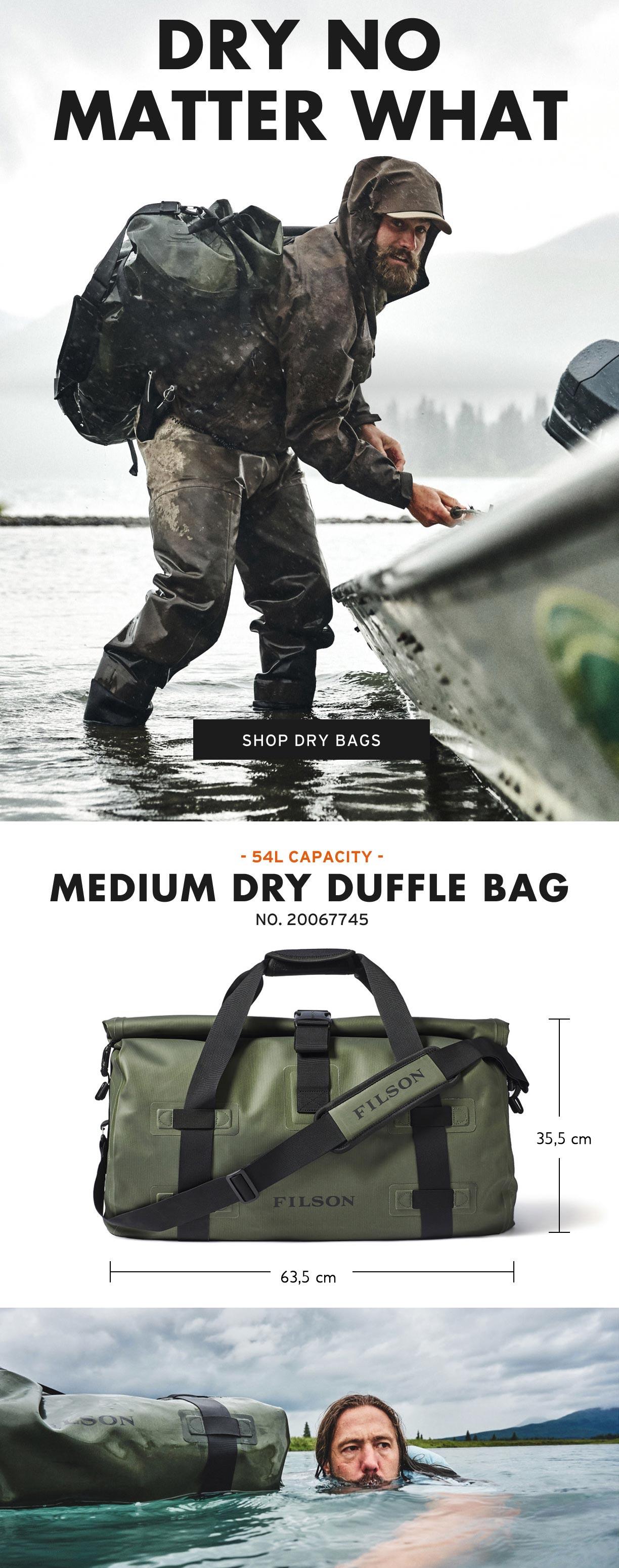 Filson Dry Duffle Medium Produktinformationen
