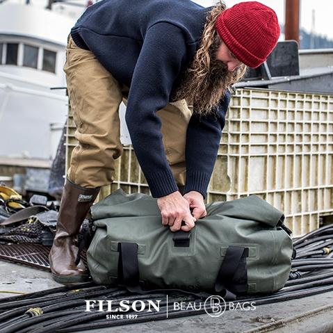 Filson Dry Duffle Bag Medium, Hält Ihre Ausrüstung bei jedem Wetter trocken