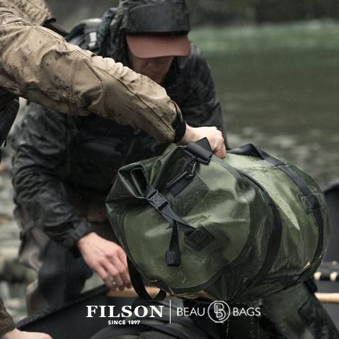 Filson Dry Duffle Bag Medium, für den Einsatz bei allen Wetterbedingungen geeignet