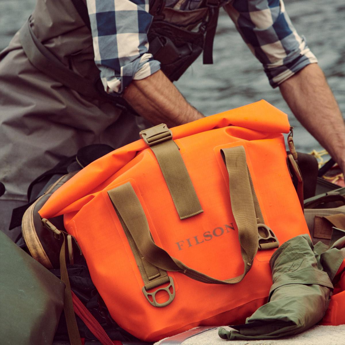 Filson Dry Roll-Top Tote Bag, garantiert wasserdicht