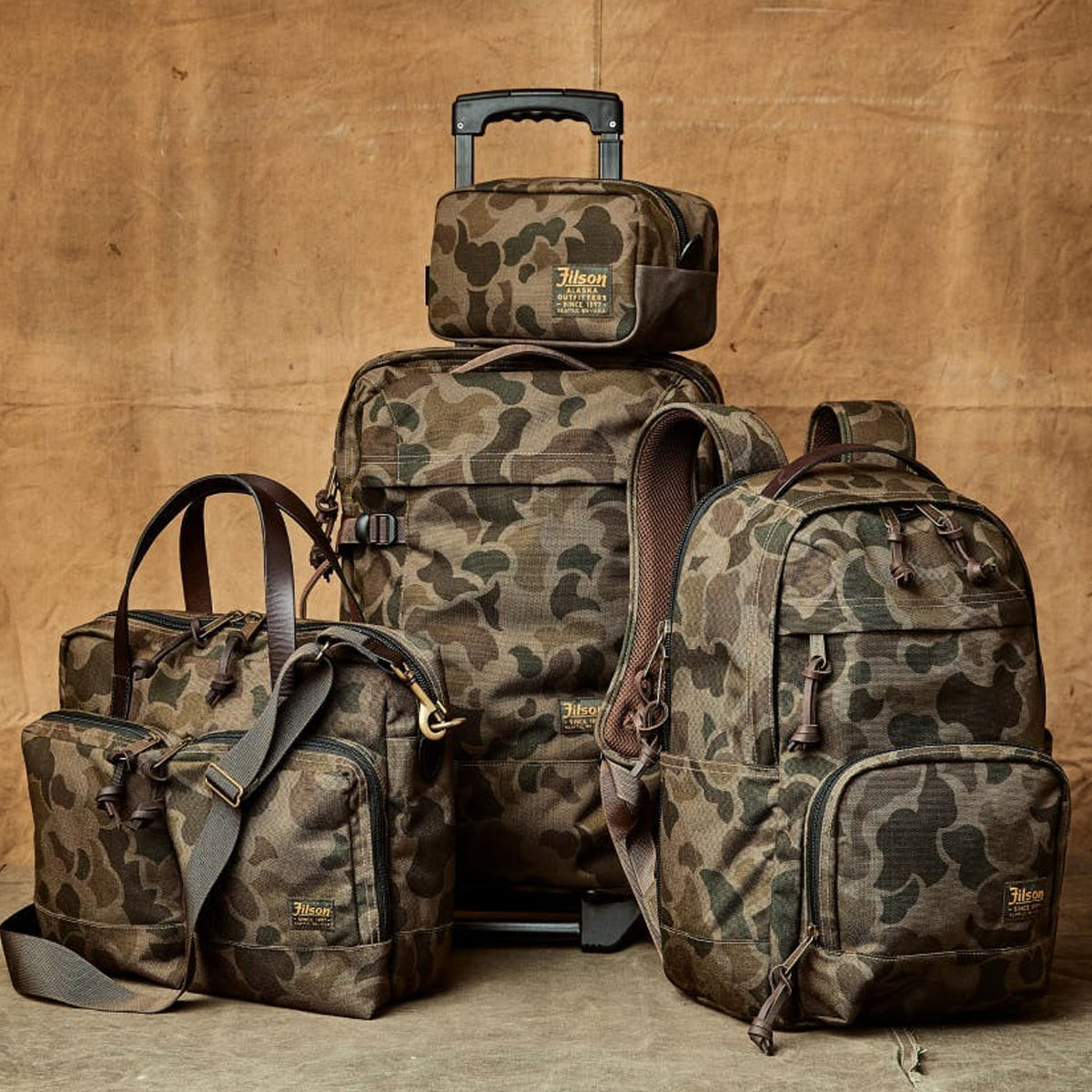 Filson Dryden Briefcase Dark Shrub Camo Kollektion