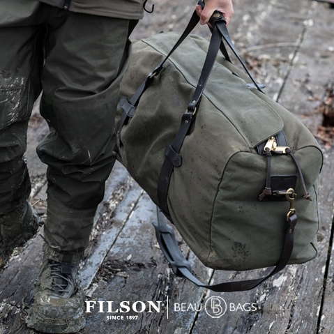 Filson Large Duffle Otter Green, the ultimate travelbag