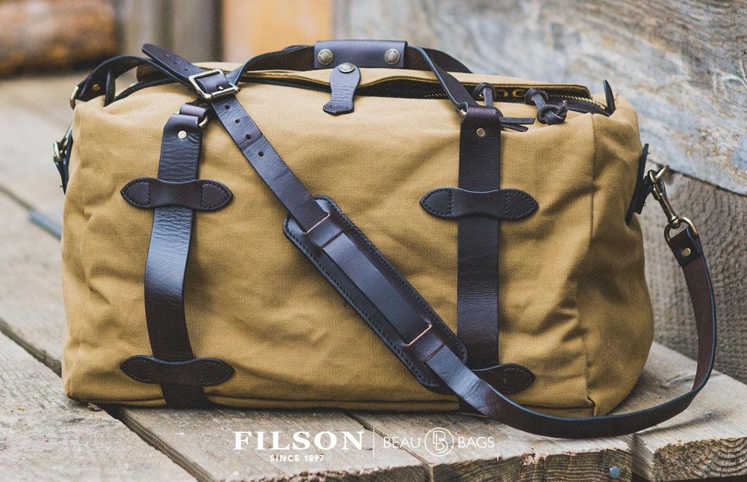 Filson Duffle Bag Medium 11070325 Tan