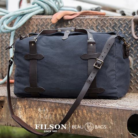 Duffle Bag Medium 11070325 Navy, lifestyle picture