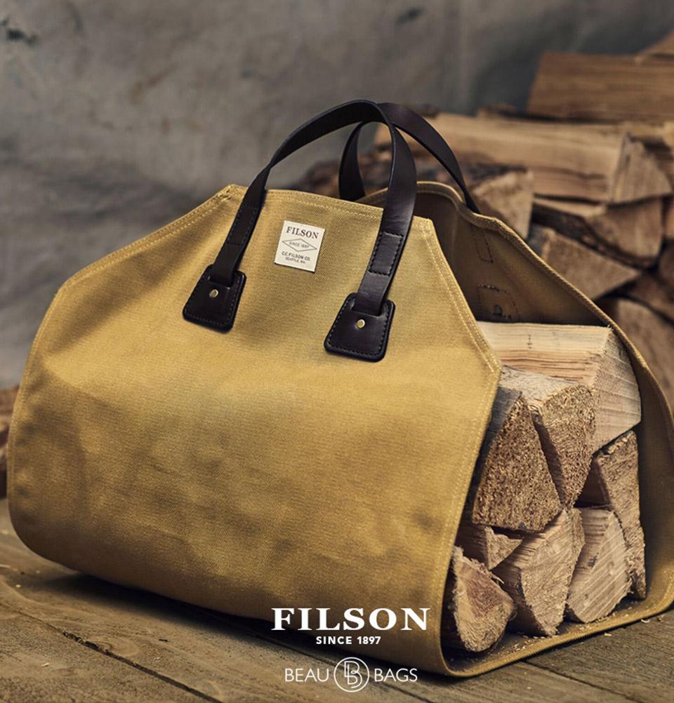 Filson Log Carrier Tan 11070280