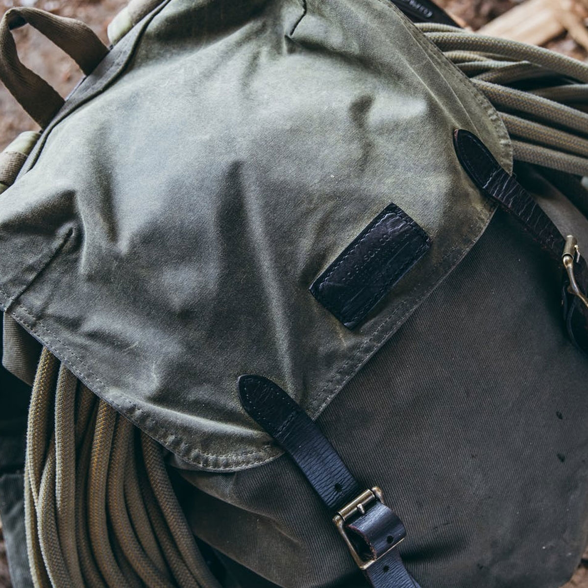 Filson Ranger Backpack 11070381 Root a rugged, vintage inspired, backpack