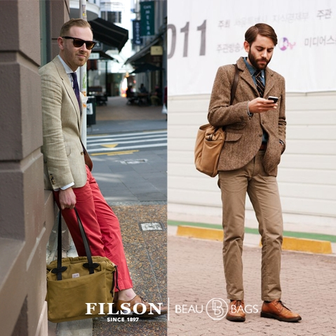 Filson Tote Bag with Zipper Tan, extraordinary bag for an ordinary day