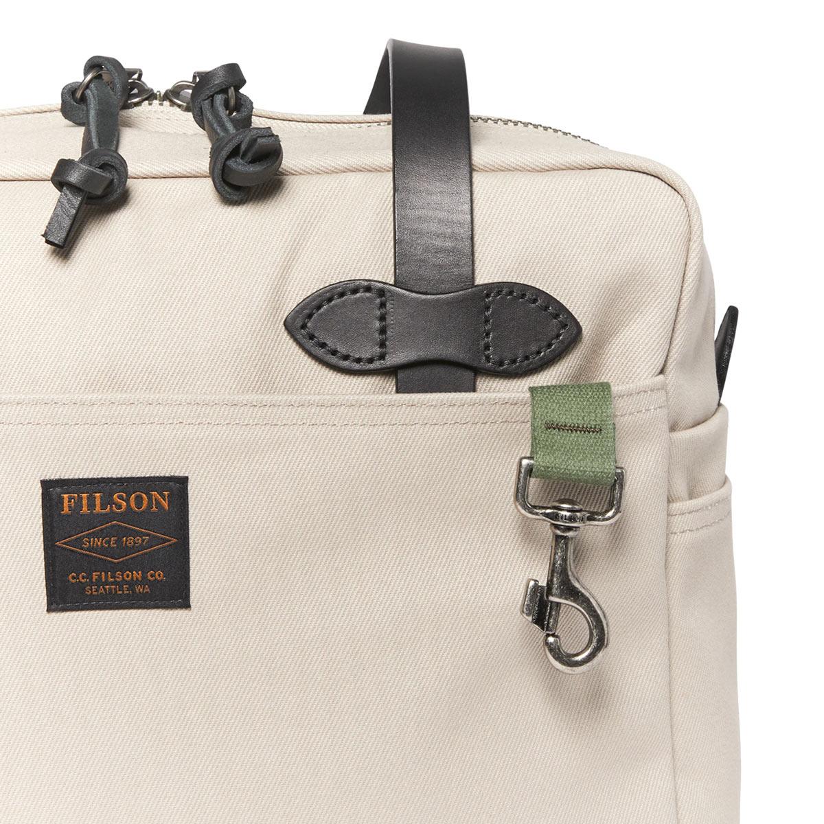 Filson Rugged Twill Tote Bag With Zipper 11070261-Twine, Tote Bag für Damen und Herren mit Stil und Liebe zur Qualität