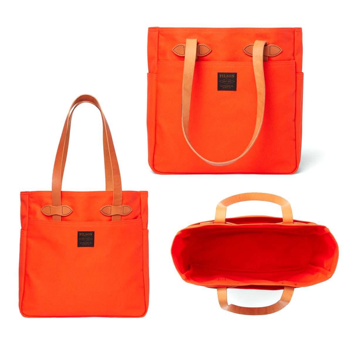 Filson Rugged Twill Tote Bag Pheasant Red, für Männer und Frauen mit Stil und Liebe zur Qualität