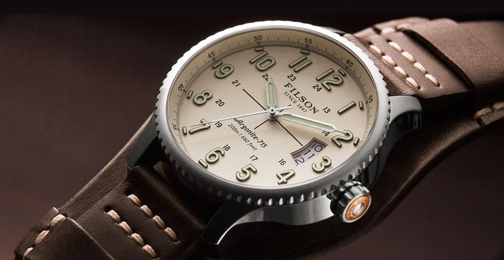 Filson Mackinaw Field Watch Cream 10000305, watch built to last