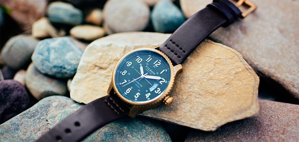 Filson Mackinaw Field Watch Green 10000308, watch built to last