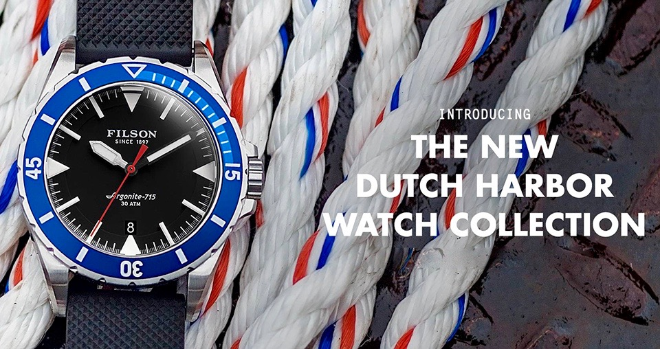 Filson The Dutch Harbor 20001747 Inspired by the groundbreaking dive watches of the 1950s