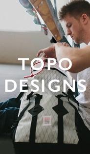 Topo Designs Taschen und Rucksacks kaufen Sie am BeauBags, Ihr Topo Designs Spezialist