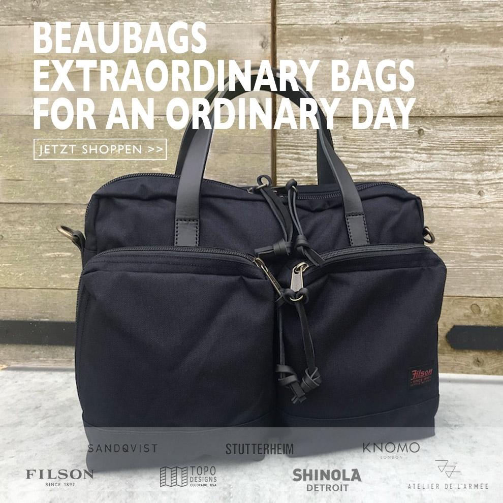 Die schönsten Taschen kaufen Sie bei BeauBags