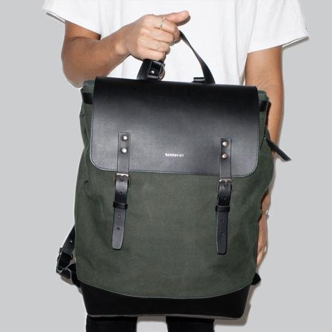 Sandqvist Hege Backpack Beluga, ein perfekter Alltagsrucksack für Arbeit und Freizeit
